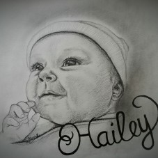 Commission - baby Hailey
